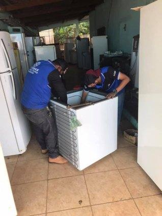Consertamos sua geladeira