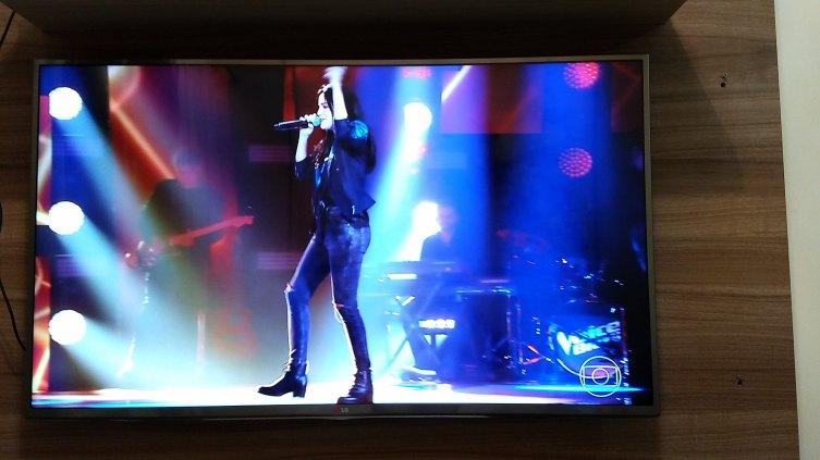 "Smart Tv 47"" LG; 3D; Full HD (semi nova)."