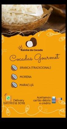 Cocadas Gourmet