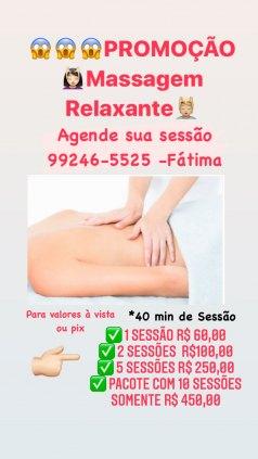 Promoção Massagem Relaxante