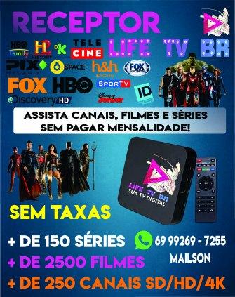 Receptor Digital Life TV BR