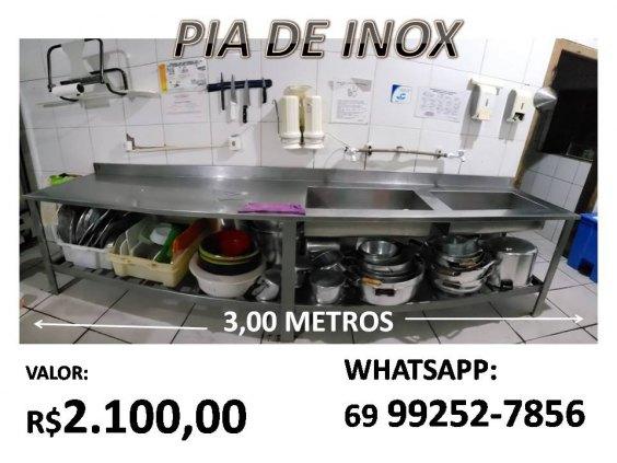 PIA DE INOX (GRANDE)