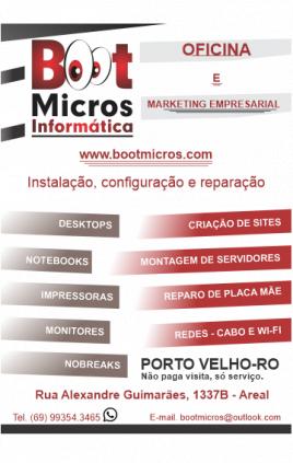 Serviços de Informática - Técnico e Marketing