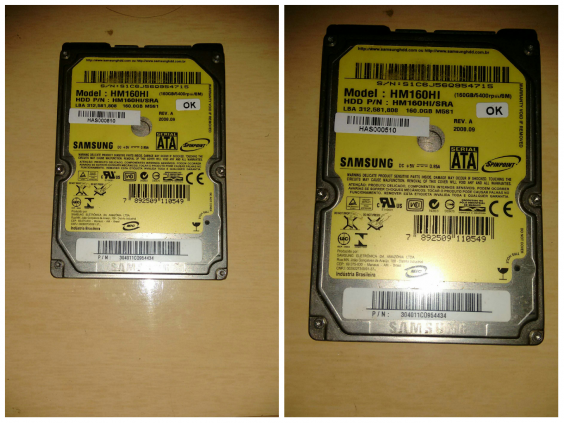 HD Samsung 160 GB