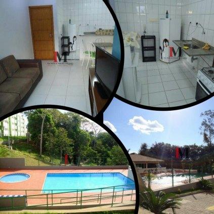 Vendemos apartamento no Vilas do Rio Madeira II - Semimobiliado
