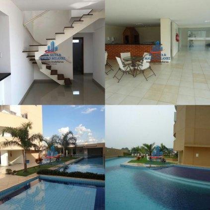 Vendemos apartamento com 4 quartos no Residencial Salvador Dalí