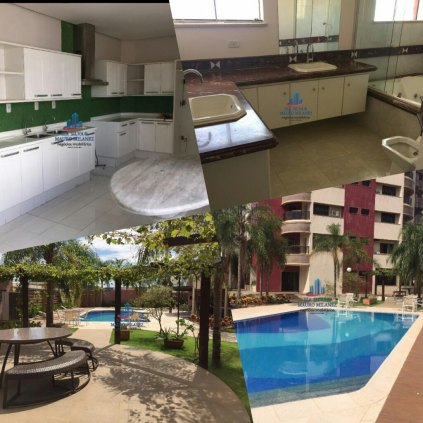 Vendemos apartamento com 4 quartos no Residencial Florence