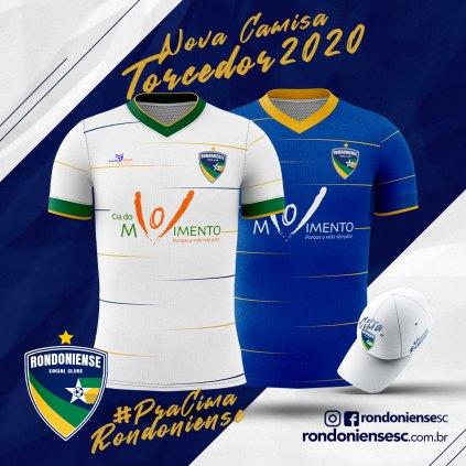 Camisa Torcedor Rondoniense Social Clube