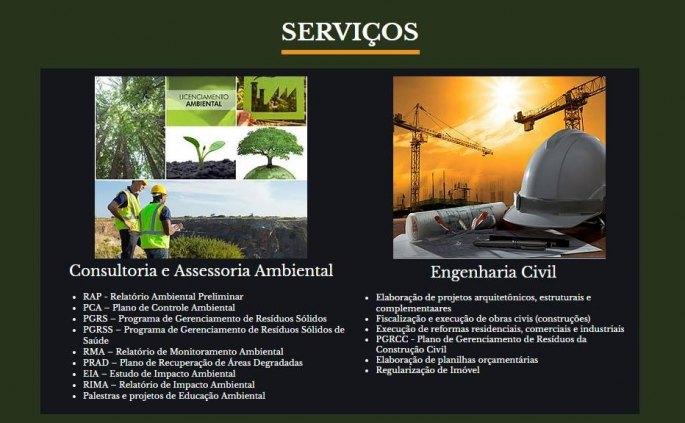 Consultoria Ambiental, Engenharia, Saúde e Segurança do Trabalho