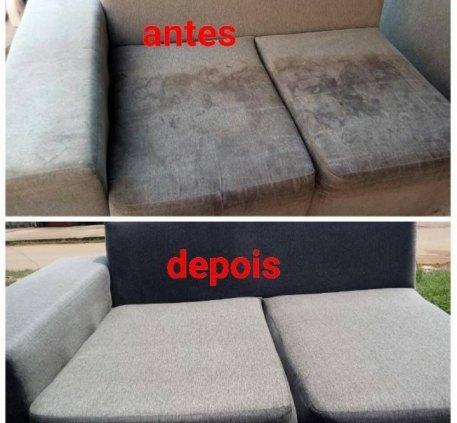 Serviço de lavagem de estofados (sofá cama,colchões, base de cama box)