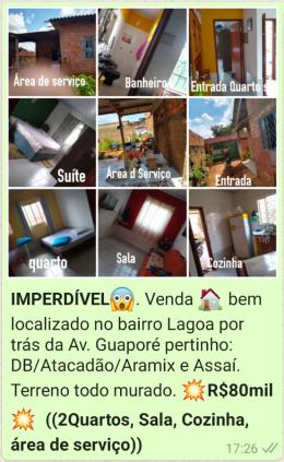 VENDA DE CASA