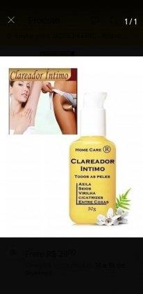 Clareador de pele
