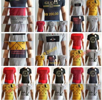 25 Camisetas
