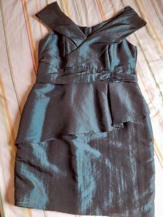 Belo Vestido social de festa tamanho 46 Plus size
