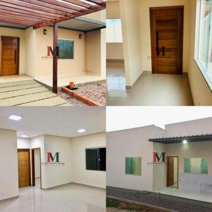 Vendemos casa com 3 quartos 110m² no bairro Rio Madeira