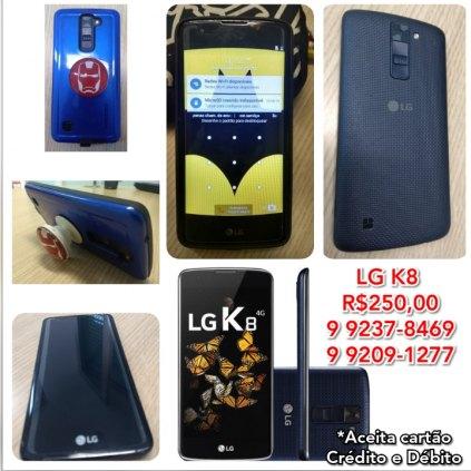 Celular LG K8 LTE