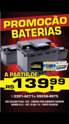 BATERIAS DE CARRO