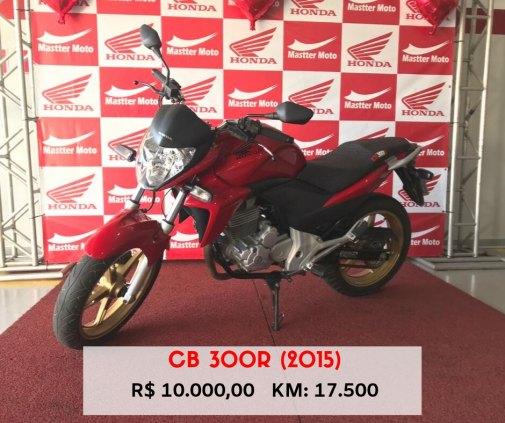 Vendo CB 300R (2015)