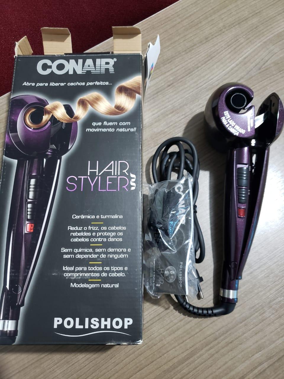 Vende-se Hair Styler (Polishop) modelador de cachos - original