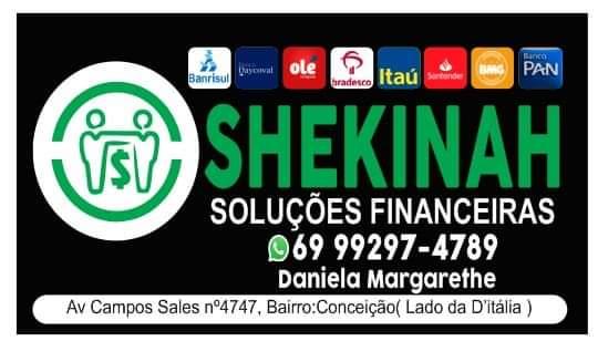 SHEKINAH - SOLUÇÕES FINANCEIRAS