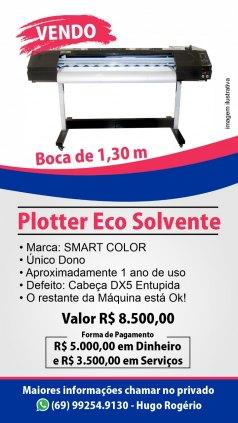 PLOTTER DE IMPRESSÃO ECOSOLVENTE