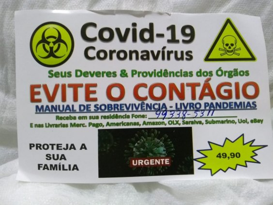 Livro Covid-19 -  Coronavírus - Manual de sobrevivência