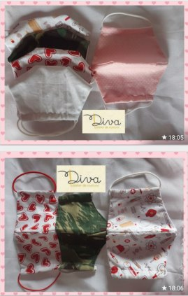 Máscaras de Proteção Respiratória