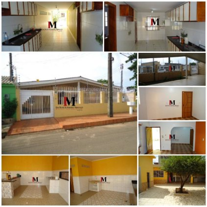Vendemos casa com 3 quartos e edicula próximo ao IFRO