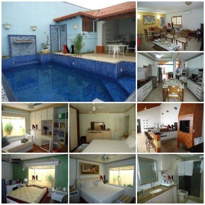 Vendemos casa com 3 quartos e piscina, pronta pra financiar, bairro Costa e Silva
