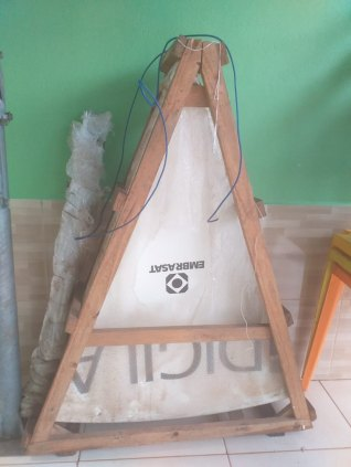 Antena Parabólica de fibra de vidro