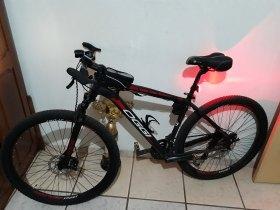 Bike oggi 27v kit accera aro 29 quadro 19 com todos os acessórios! Par