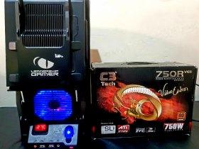 Pc top i7 3.4 ghz 8 núcleo HD 320gb memória 12 gb fonte 750w