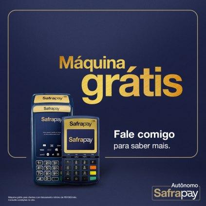 Máquina de Cartão com Taxa Zero no Crédito