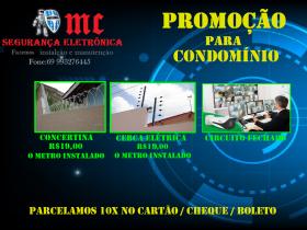 Promoção segurança eletrônica p/ condomínio e empresa, damos desconto