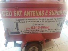 Técnico em instalação de antenas via satélites