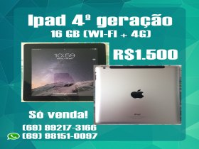 Ipad 4ª Geração 16Gb (Wi-Fi + 4G)