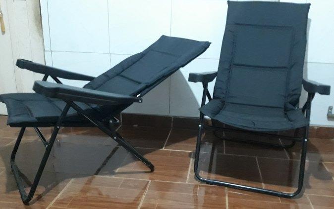 Cadeira/Poltrona Aço reclinável