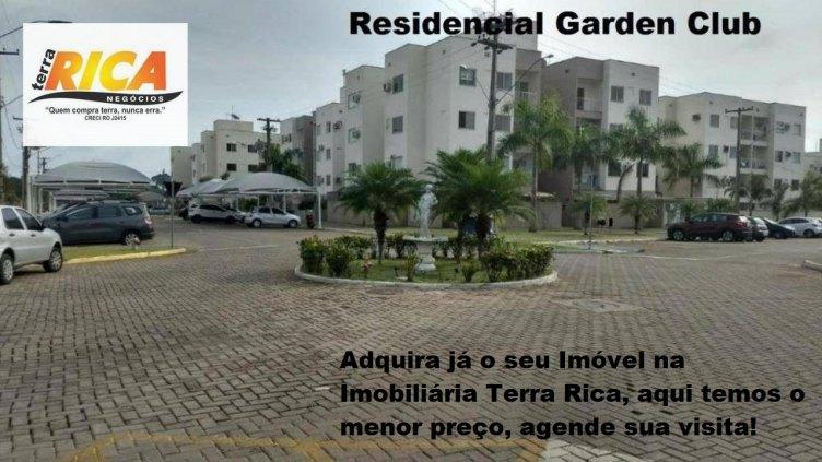 Apto à venda no Residencial Garden