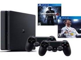 PlayStation 4 mais 2 jogos um mês de uso