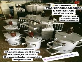 Transformadores serviço elétrico