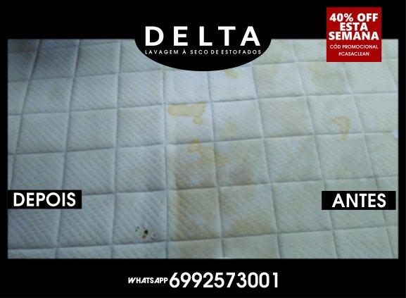 Delta LAVAGEM E HIGIENIZAÇÃO À SECO DE ESTOFADOS
