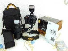 Nikon D5500, Usada + Acessórios (ver Descrição)