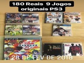 9 Jogos Originais PS3