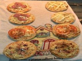 Mini Pizza Caseira
