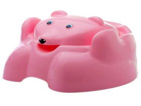Troninho Adoleta Urso - Rosa