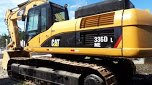 Escavadeira Cat 330 D Caterpillar 320 ano 2008