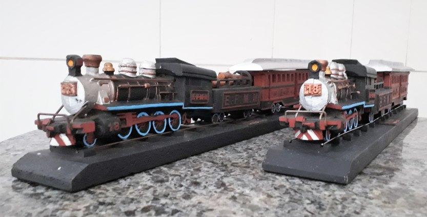 Replica da Locomotiva Maria Fumaça