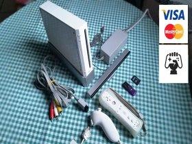 Vende-se Nintendo Wii completo desbloqueado