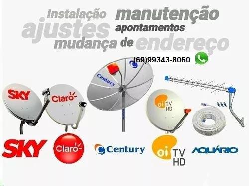 Técnico em instalação de antenas via satélites e parabólicas
