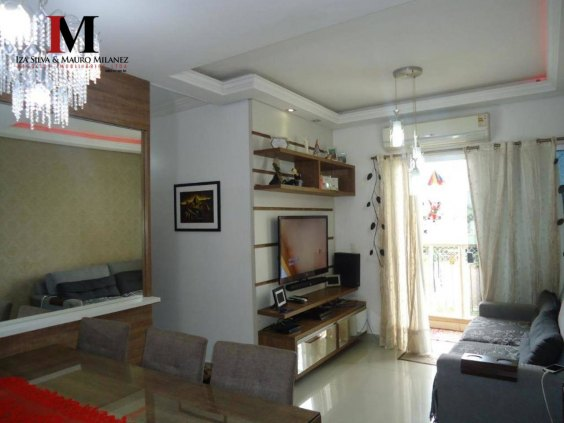 Vendemos lindo apartamento com 3 quartos no Residencial Vita Bela